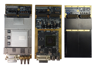Rugged WOLF XMC video graphics cards