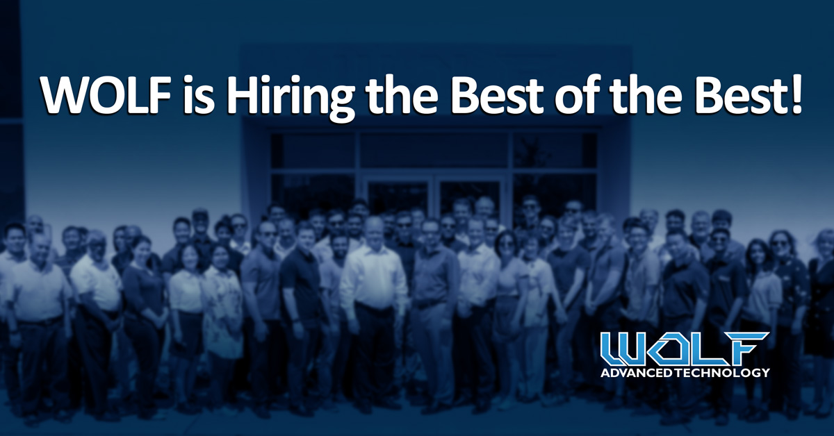 WOLF is Hiring the Best of the Best